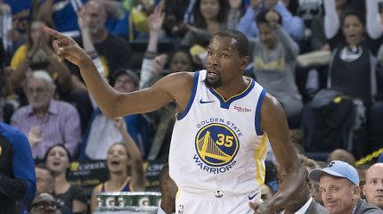 Po 12 sezonų Kevinas Durantas keičia marškinėlių numerį