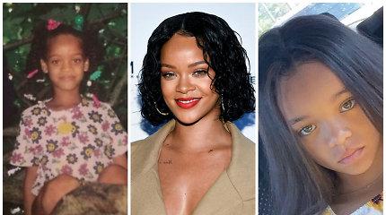Rihanna rado savo jauną antrininkę: 7-metė iš JAV – tikra jos kopija