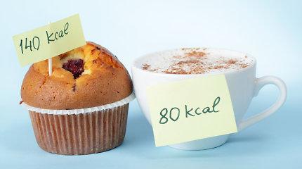 Mokslininkai: norint nepriaugti svorio bei išvengti ligų, reikia ne tik skaičiuoti kalorijas