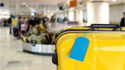Vilniaus oro uoste – nauja sistema: keleivių bagažas bus registruojamas tris kartus greičiau