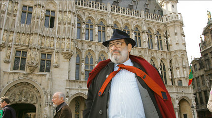 Umberto Eco gyvenimas tarp Tvarkos ir Nuotykio