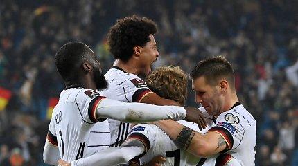 Pasaulio čempionato atrankoje – estų triumfas ir išvargta vokiečių pergalė