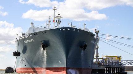 Į Klaipėdą atplaukė naujas SGD krovinys iš Vysocko