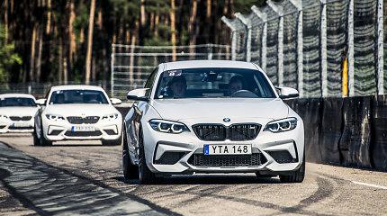 BMW lietuviams parodė naująjį BMW M2 Competition: du turbokompresoriai ir 410 AG
