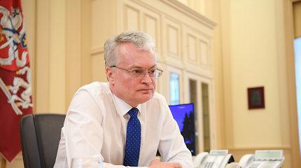 G.Nausėda pirmą kartą pabendravo su A.Lukašenka: Sąjūdis prieš Astravo AE jau subruzdo