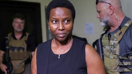 Nužudyto Haičio prezidento našlė davė parodymus bylą tiriančiam teisėjui