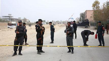 Afganistane per Talibano kovotojų išpuolį žuvo mažiausiai 11 policininkų