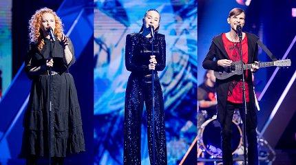 """Į kitą """"Eurovizijos"""" etapą keliauja pirmieji dalyviai: tarp jų – Milita ir Voldemars Petersons"""