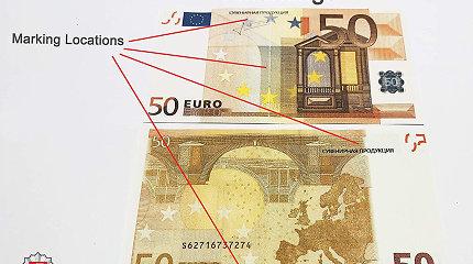 Panevėžio policijos įspėjimas: plinta vis daugiau suvenyrinių ar žaislinių eurų