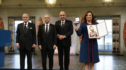 Tuniso demokratijos sergėtojams įteikta Nobelio taikos premija