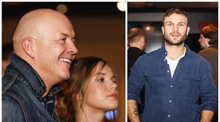 """Serialo """"Prakeikti"""" pristatyme – netikėti veidai: su aktoriais vakarojo ir Vaidas Baumila"""