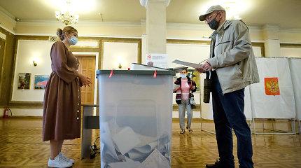 Berlynas nepripažįsta rinkimų į Rusijos Valstybės Dūmą Kryme