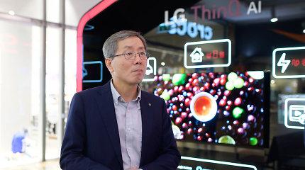 """LG vadovas Europoje – apie planus Lietuvoje ir pranašumą prieš """"Samsung"""""""