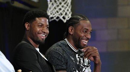 Los Andželo ekipų kaktomuša – jau pačią pirmą NBA reguliaraus sezono dieną