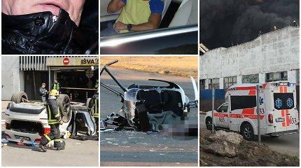 Kriminalinė 2019-ųjų apžvalga: neregėti gaisrai, žiaurūs nusikaltimai ir nelaimės bei teisėsaugos gėda