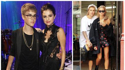 """Justinui Bieberiui trūko kantrybė: """"Mylėjau ir myliu Seleną, bet mano nuotaka – Hailey!"""""""