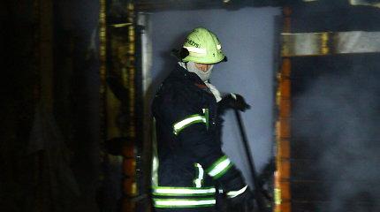 Abromiškių kaime kilo gaisras