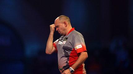 Apmaudu: pranašumą turėjęs D.Labanauskas baigė pasirodymą prestižiniame smiginio turnyre