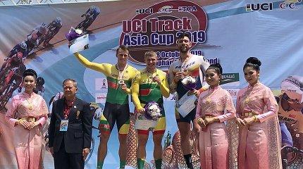 Tailande – Lietuvos dviratininkų sėkmė