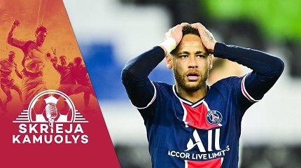 """""""Skrieja kamuolys"""": valanda aistrų dėl naujos Superlygos, stiprus PSG, kitos Čempionų lygos kovos, H.Flicko pasitraukimas"""