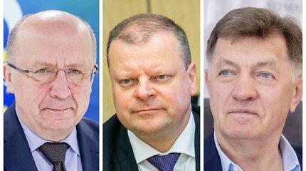 Buvę Vyriausybės vadovai įvertino kabineto formavimą: S.Skvernelis nėra tai, kuo turėtų būti premjeras