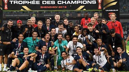 """Prancūzijos Supertaurę iškovojo """"Paris Saint Germain"""" klubas"""