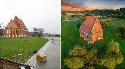 Betonas šalia unikalios Zapyškio bažnyčios: erdvės kultūrai plėtra ar kraštovaizdžio niokojimas?