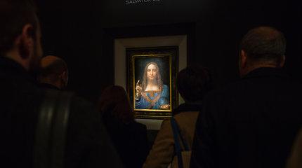 Luvro muziejus prieš arabų princą: pasauliui vis dar neleidžiama pamatyti garsiojo Leonardo da Vinči paveikslo