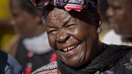 Kenijoje būdama 99 metų mirė JAV eksprezidento B.Obamos netikra močiutė