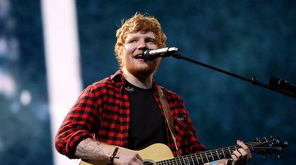 Edas Sheeranas paskelbtas populiariausiu Didžiosios Britanijos dešimtmečio atlikėju