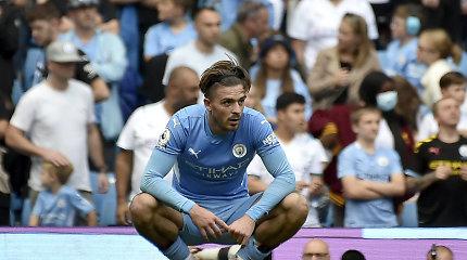 """""""Premier"""" lygoje – """"Man City"""" prarasti taškai ir """"Liverpool"""" pergalė"""