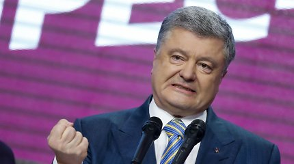 Ukrainoje prieš P.Porošenką pradėtas tyrimas dėl įtariamo valstybės išdavimo