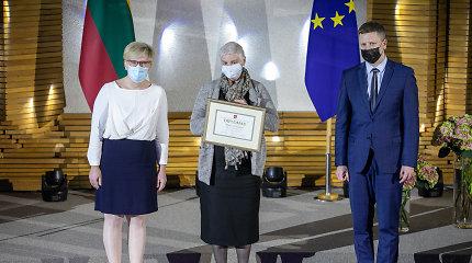 Vyriausybės premijos laureatai kalbėjo apie meno įtaką kovojant už žmogaus teises