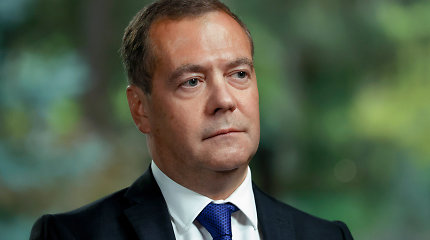 D.Medvedevas: Rusija gali pradėti tyrimą dėl amerikiečių IT bendrovių kišimosi į rinkimus