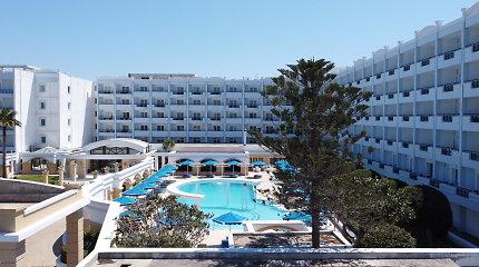 Eksperimentas Graikijos saloje: karantinas – 5 žvaigždučių viešbutyje