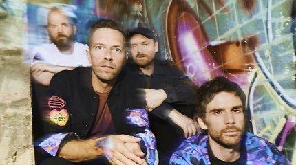 """""""Coldplay"""" išleido naują albumą: pagrindinį kūrinį įrašė su Selena Gomez"""