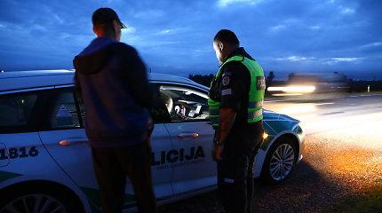 Šiaulių policijos pareigūnas ne tarnybos metu prie Panevėžio sulaikė girtą vairuotoją