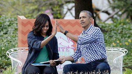 """Barackas ir Michelle Obamos debiutuoja """"Oskaruose"""": sulaukė pirmos nominacijos"""