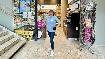 """Energingoji """"Narvesen"""" pardavėja Diana: apie tai, koks vaikščiojimas padeda pailsėti"""