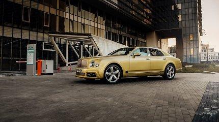 """""""Bentley Mulsanne Speed"""" – galingiausias prabangus sedanas jau Lietuvoje"""