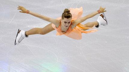 Rusija prieš Ameriką: penkių čiuožėjų mūšis dėl medalių Bostone virsta dramatišku spektakliu