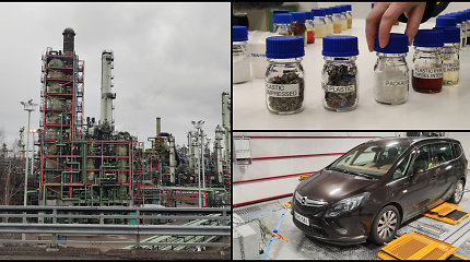 Suomiai naftos perdirbimo gamykloje degalams žada panaudoti ir perdirbtą plastiką