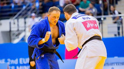 Lietuvos dziudo kovotojai Europos žaidynėse liko be pergalių