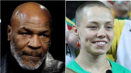 """M.Tysonas pasisakė apie į UFC narvą grįžtančią R.Namajunas: """"Ji tarsi lėlytė"""""""