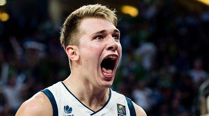 Dirko Nowitzkio įspėjimo sulaukęs Luka Dončičius užsiminė apie Lietuvą