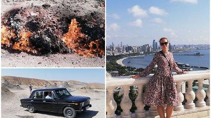 Azerbaidžanas – ugnies ir vėjų žemė