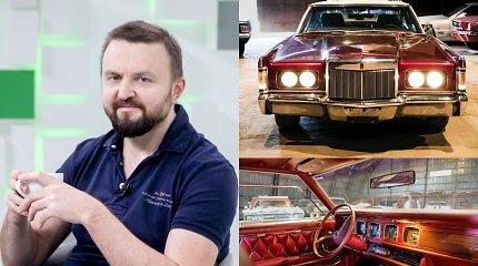 Stano – atvirai apie tai, ką patyrė nusipirkęs senovinį amerikietišką automobilį