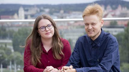 Drąsus transplantacijos laukiančio Aisčio ir jį palaikančios Karolinos sprendimas: užuot bėgę nuo ligos, atvėrė jai savo širdį