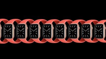 """Medikai perspėja: naujojo """"Apple Watch"""" deguonies jutiklis gali rodyti """"pieno riebumą"""""""