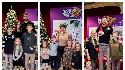 Trokštamiausio žaislo rinkimuose nuomonę išsakė garsenybių vaikai – ką jie norėtų rasti po Kalėdų egle?